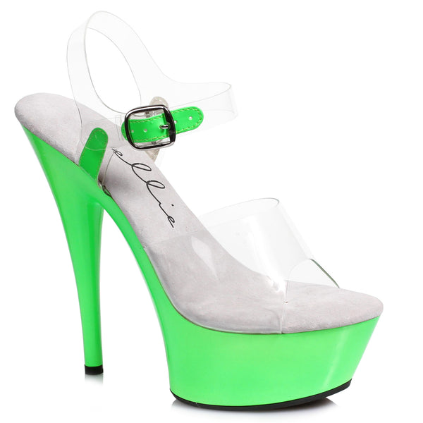 6 Neon Stiletto Sandal