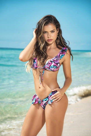 Caribbean Nights Thong Bikini