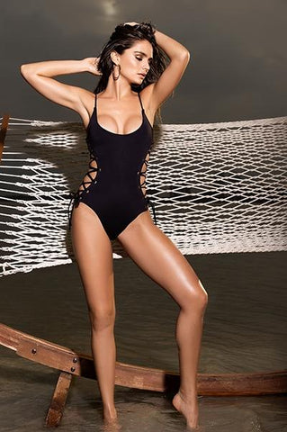 Tie Me Up One Piece Swimsuit