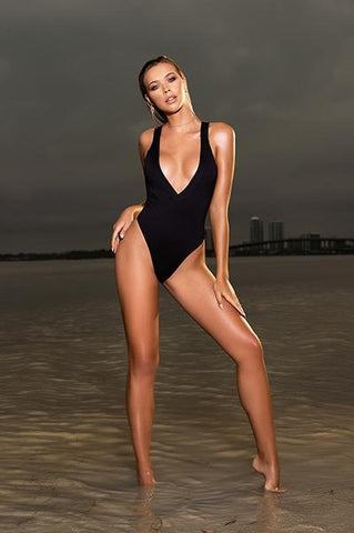 Low Back One Piece Swimsuit