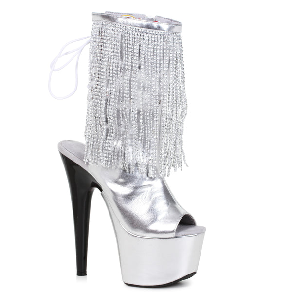 7 Platform Heel W/Fringe Light Up