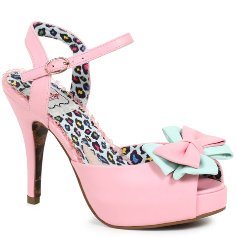 4 Peep Toe Boe Detail Pump
