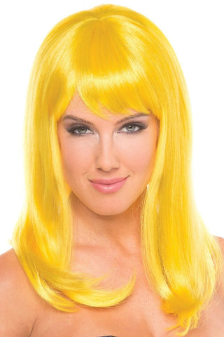 Hollywood Wig Yellow