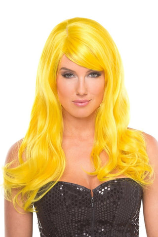 Burlesque Wig Yellow