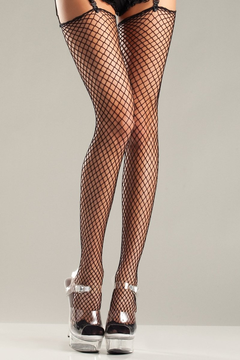 In Your Net Thigh Highs