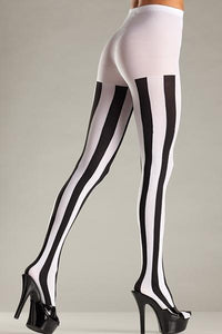 Vertical Striped Pantyhose