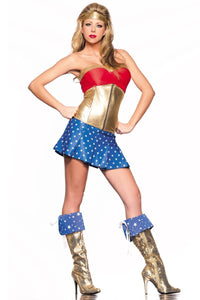 Golden Superhero Costume