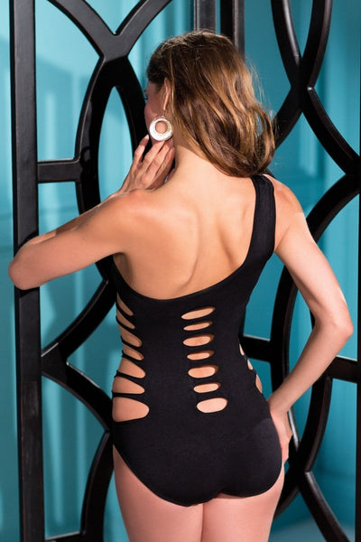 Spandex Cutout Teddy Body Stocking
