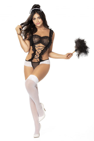 French Maid Teddy Costume