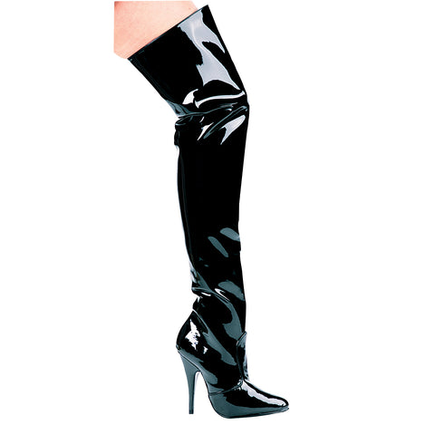5 Heel Thigh High Boots