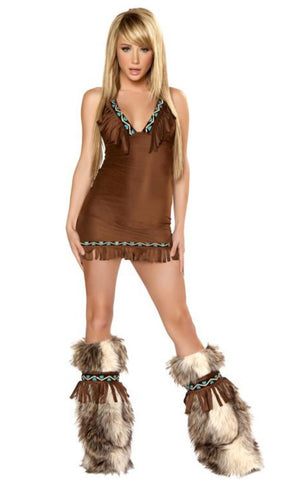 The Eskimo Fringe Dress Costume