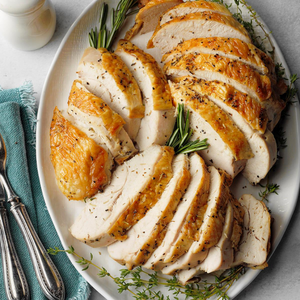 Roasted Turkey  (serves 10 people)