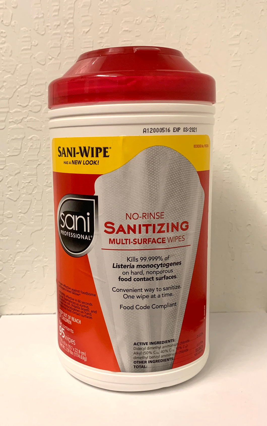 Sanitizer Wipes (1 Each)