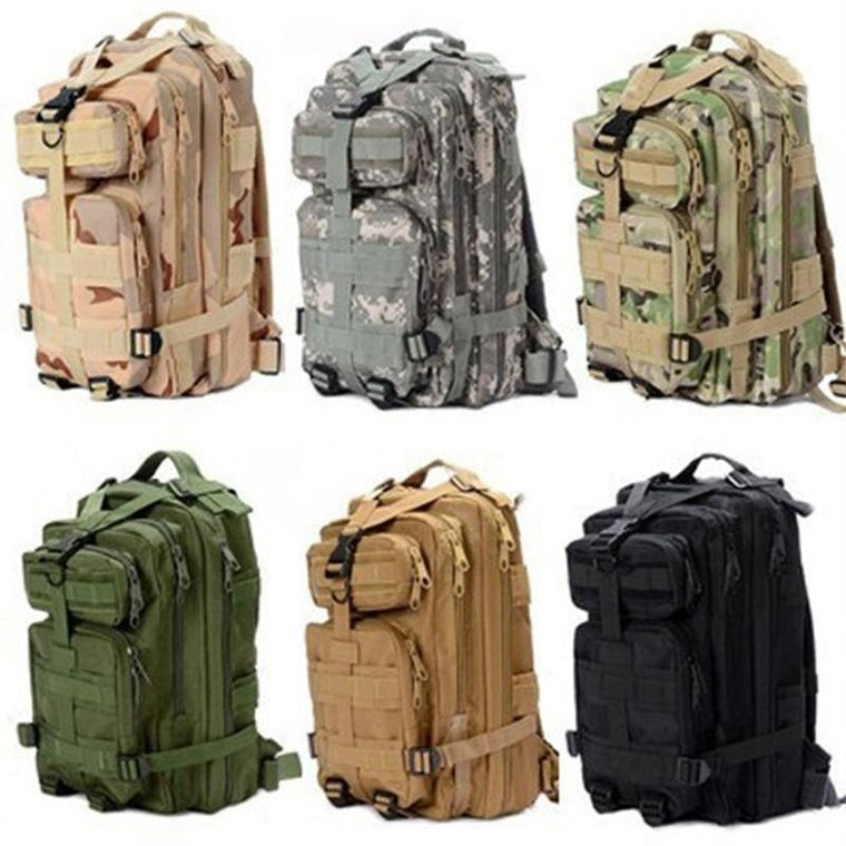 Outdoor Military Rucksacks Tactical Backpack Sports Camping Hiking Trekking Bag