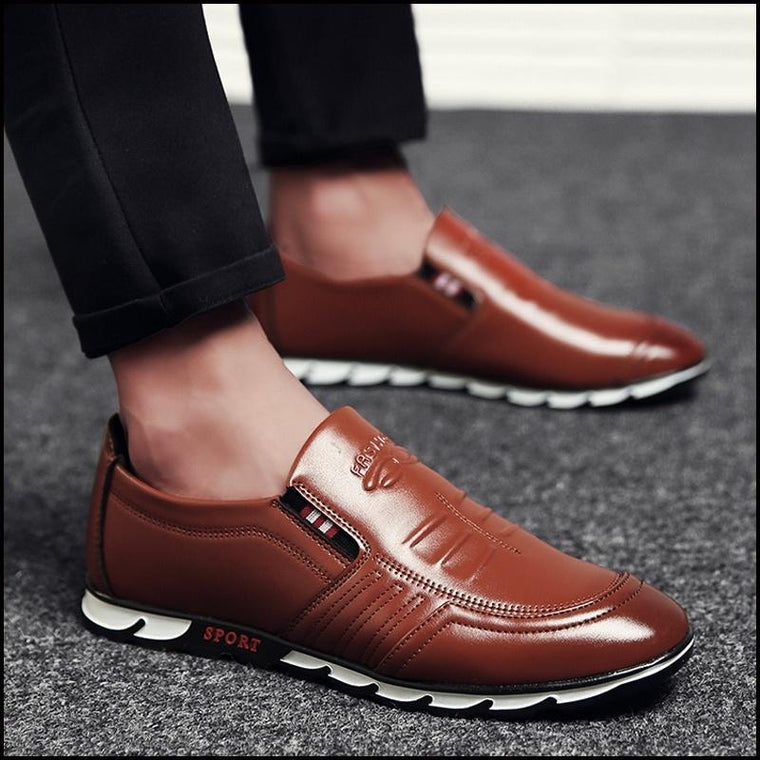 Men's Fashion Business Casual Shoes Comfortable Driving Shoes