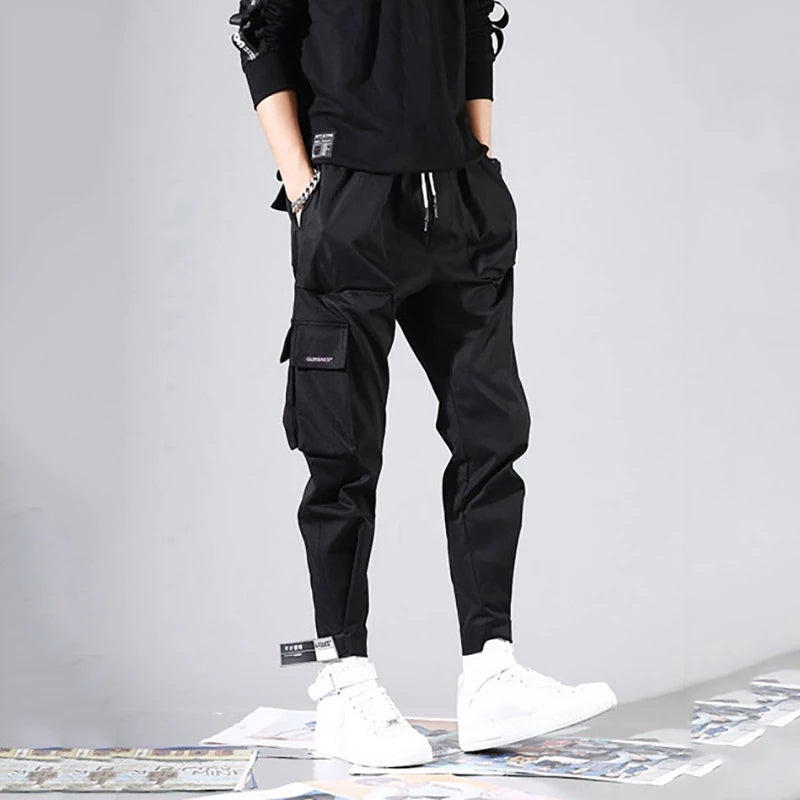 Men's Fashion Loose Velcro Tooling Pants