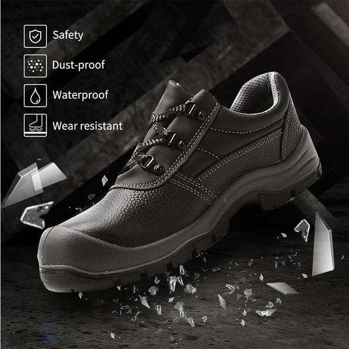 Men's Lace-Up Safety Work Shoes