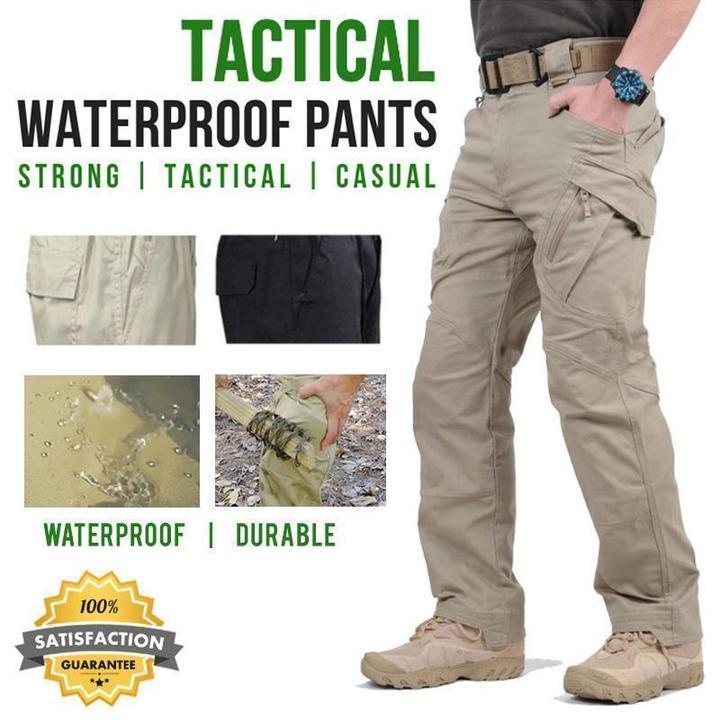 Men's Plus Size Autumn Waterproof Tactical Pants