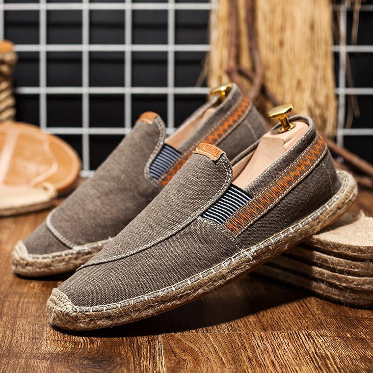 Men's Canvas Shoes Unisex Breathable Flats