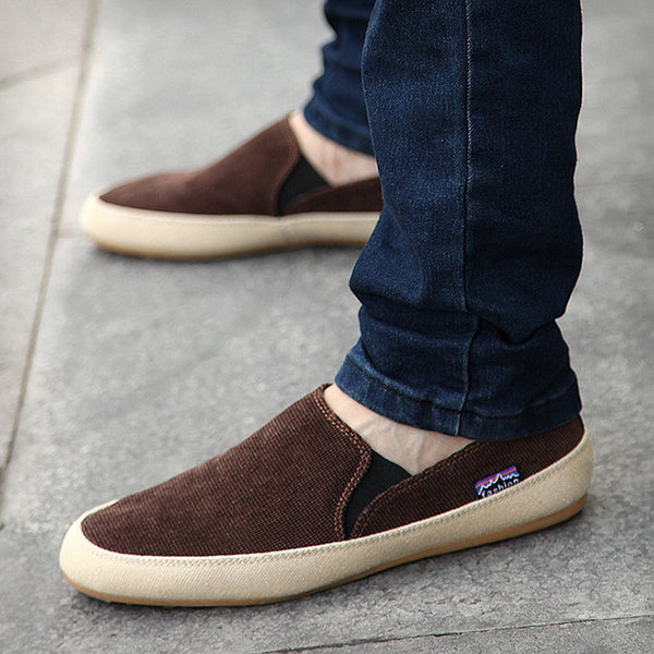 Men's Flat Heel Canvas Casual Shoes
