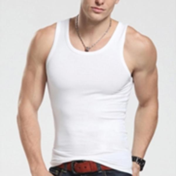 Men's Tight-Fitting Sports Bottoming Vest Slim Super Elastic Vest
