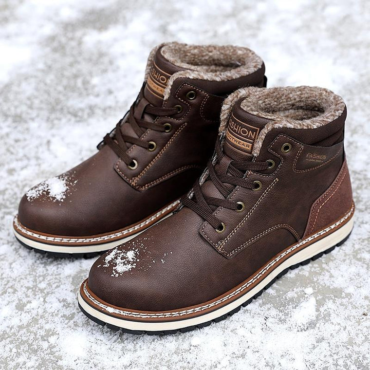 Fashion Men Winter Snow Keep Warm Boots