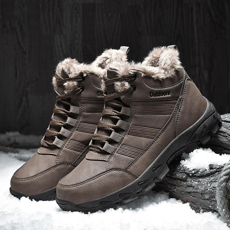 Joker Casual Shoes High Warm Boots