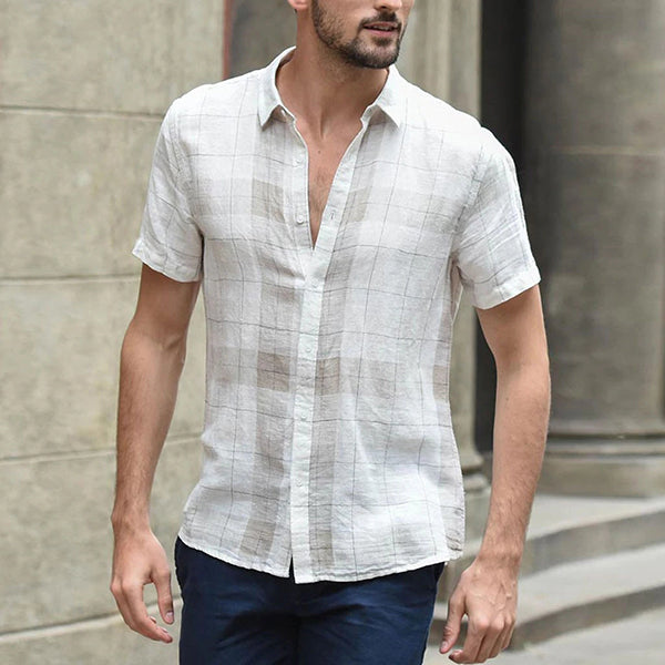 Men's Short Sleeve Summer Shirt