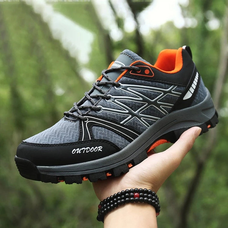 Steel Toe Work Casual Breathable Outdoor Safety Shoes
