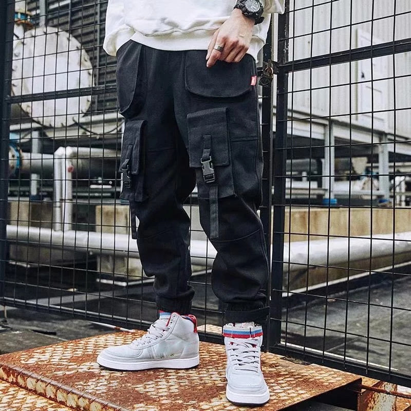 Fashion Loose Tooling Casual Pants