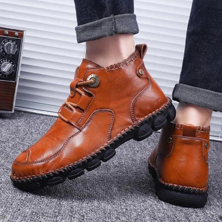 Men's Martin Casual Lace-Up Boots