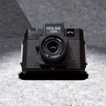 Load image into Gallery viewer, Holga Classic Medium Format Camera (with one roll of Kodak 120 film)