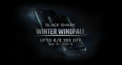 Black Shark Winter Windfall: up to €100 off