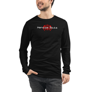 Dark Colored Menace Baits Long Sleeve Tee
