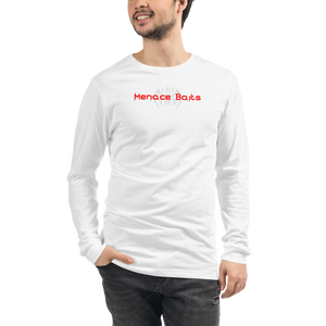 White Menace Baits Long Sleeve Tee
