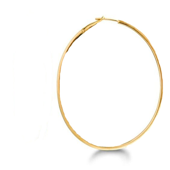 Luz Gold hoops