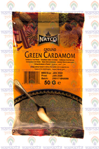 Natco Ground Green Cardamom 50g