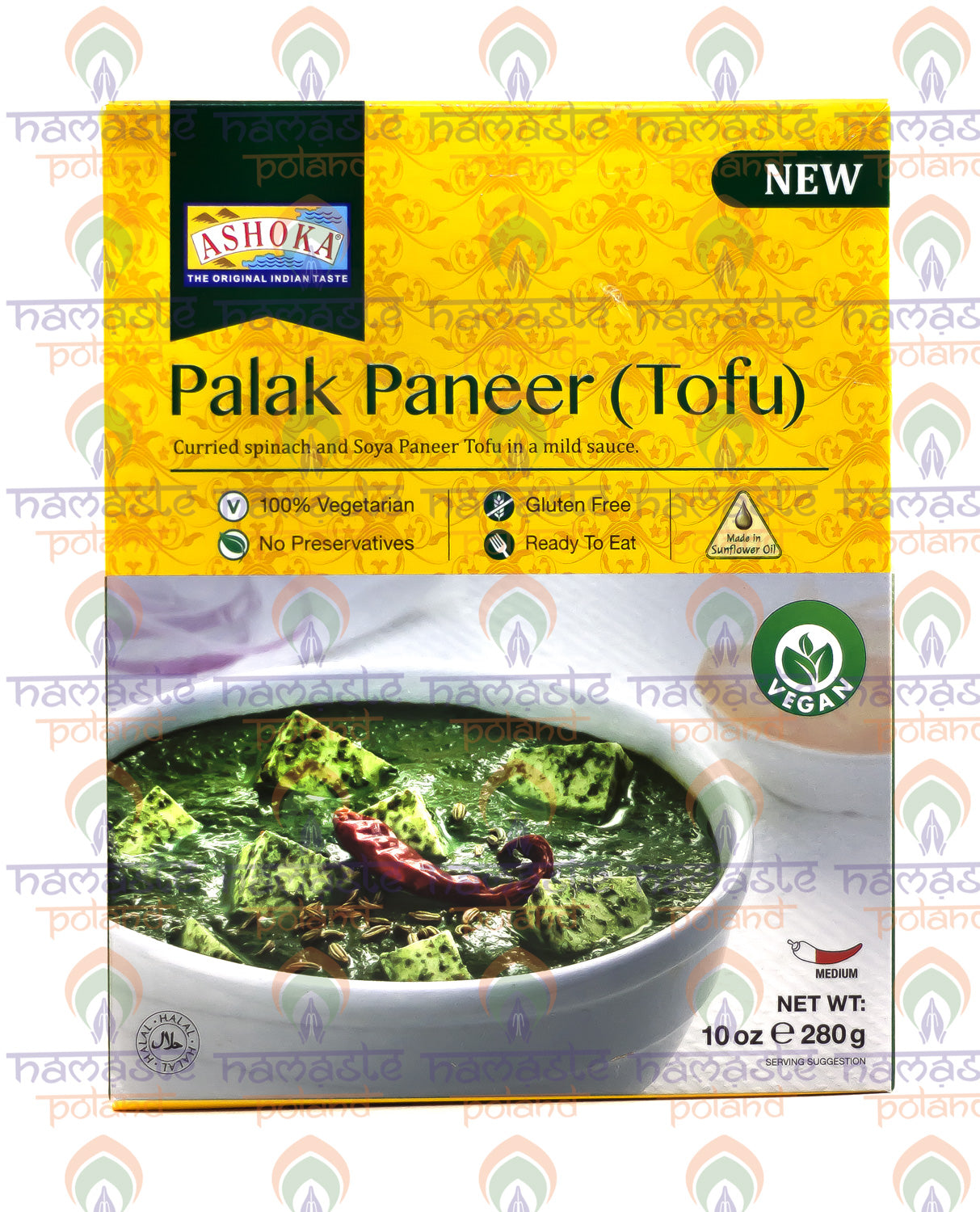 Ashoka Palak Paneer (Spinach & Cottage Cheese) 280g