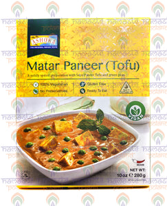 Ashoka Matar Paneer (Green Peas & Cottage Cheese) 280g