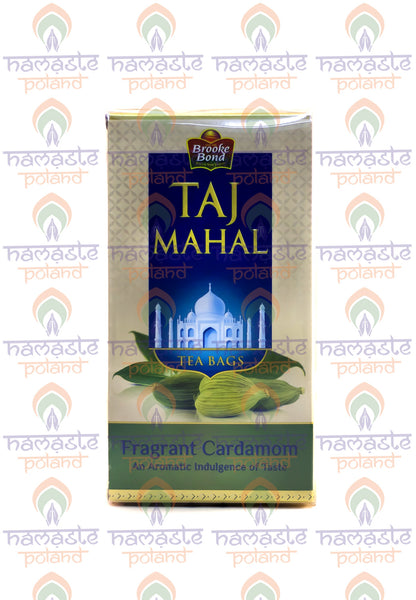 Taj Mahal Tea Fragrant Cardamom, 25 tea bags