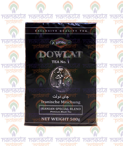 Dowlat Tea No.1. Iranian Special Blend. Premium Black Tea. 500g Loose Tea