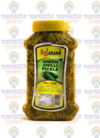 Rasanand Green Chilli Pickle 500g