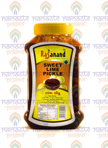 Rasanand Sweet Lime Pickle 500g