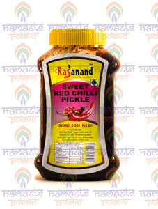 Rasanand Sweet Red Chilli Pickle 500g