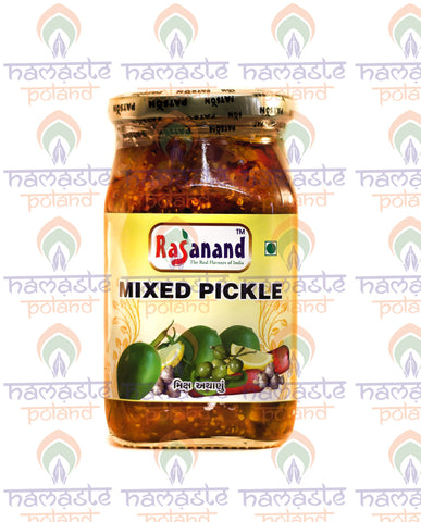 Rasanand Mixed Pickle 500g