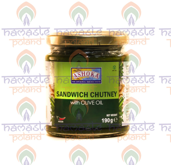 Ashoka Sandwich Chutney with Olive Oil 190 g