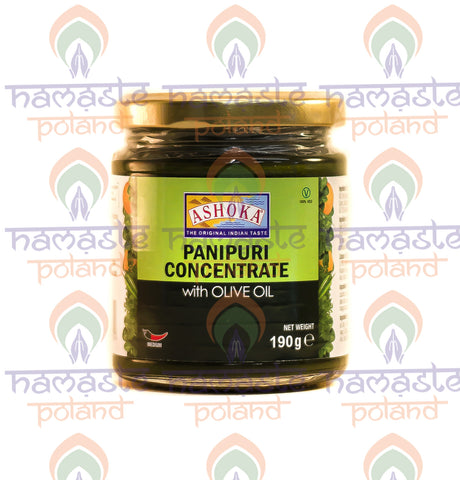 Ashoka Panipuri Concentrate with Olive Oil 190g