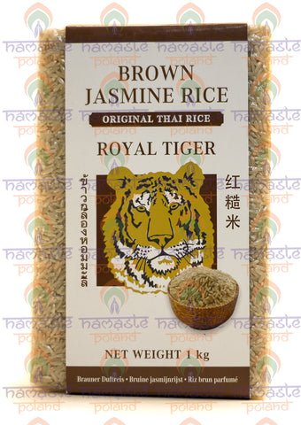 Royal Tiger Brown Jasmine Rice 1 kg