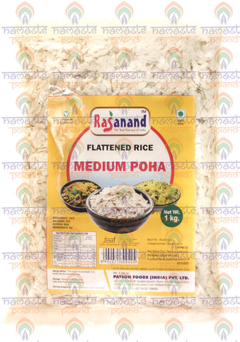 Rasanand Flattened Rice (Medium Poha) 1Kg