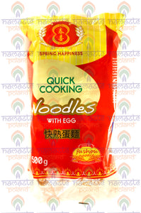 Quick Cooking Noodles with Egg